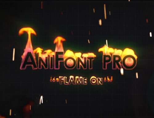 AniFont PRO ~ Flame On!